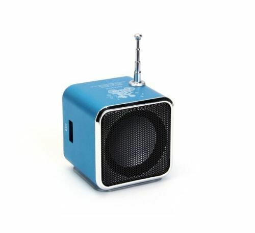 USB Mini Digital Speaker FM Radio MP3 Music Box TD-V26 with Micro SD TF