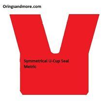 Hydraulic U Cup Metric 25mm ID x 40mm OD x 10mm Seal  Price for 1 pc
