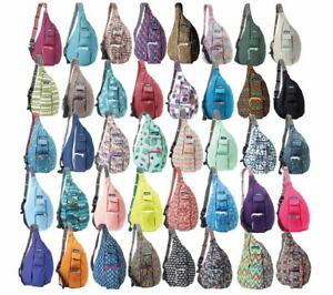 Kavu-Rope-Bag-Sling-Backpack-Everyday-Women-039-s-Travel-Hiking-Daypack-Cotton-Purse