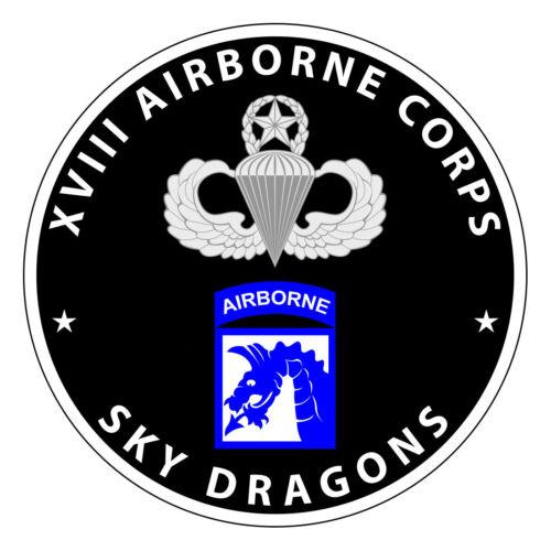 Sky Dragons XVIII Airborne 0034 Airborne Stickers