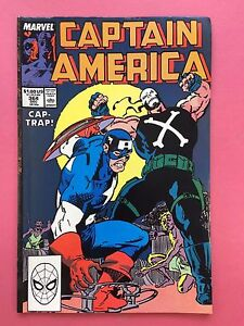Captain-America-Cap-Trap-Marvel-Comics-364-Diciembre-Vfn