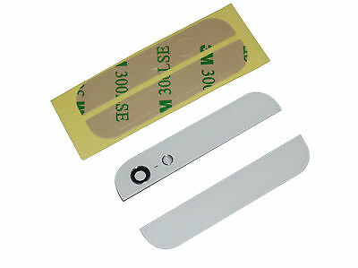 Complete White Back Rear Housing Glass Lens Cover Replacement Part For iPhone 5