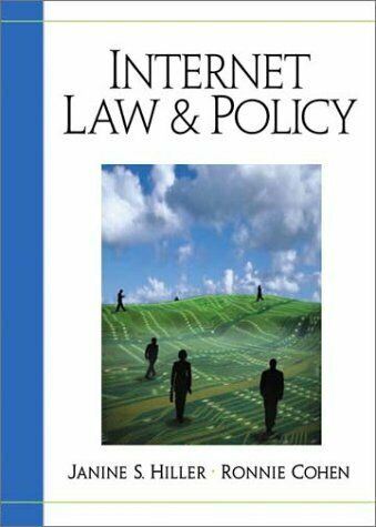 Internet Law and Policy by Cohen, Ronnie