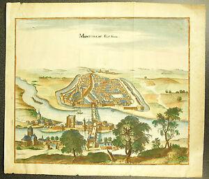 Montereau-Fault-Yonne-Faut-Yonne-the-Seine-Port-Engraving-18th-Th-Enhanced