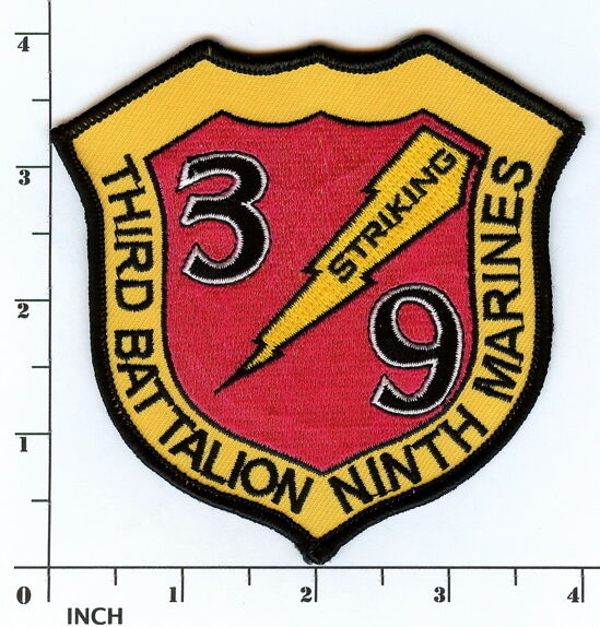 Usmc 3 Rd Assault Amphibian Battalion Color Round Patch Marines 3