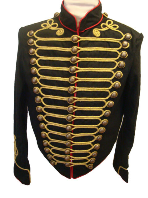 Steampunk SDL Military Jacket with big buttons DJ1B