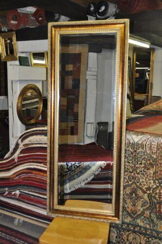 Prunk Spiegel Wandspiegel 134x54 cm Goldspiegel Designer