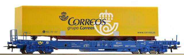 ROCO 67509 , VAGÓN UNITARIO, RENFE + semirremolque, NUEVO, emb.orig
