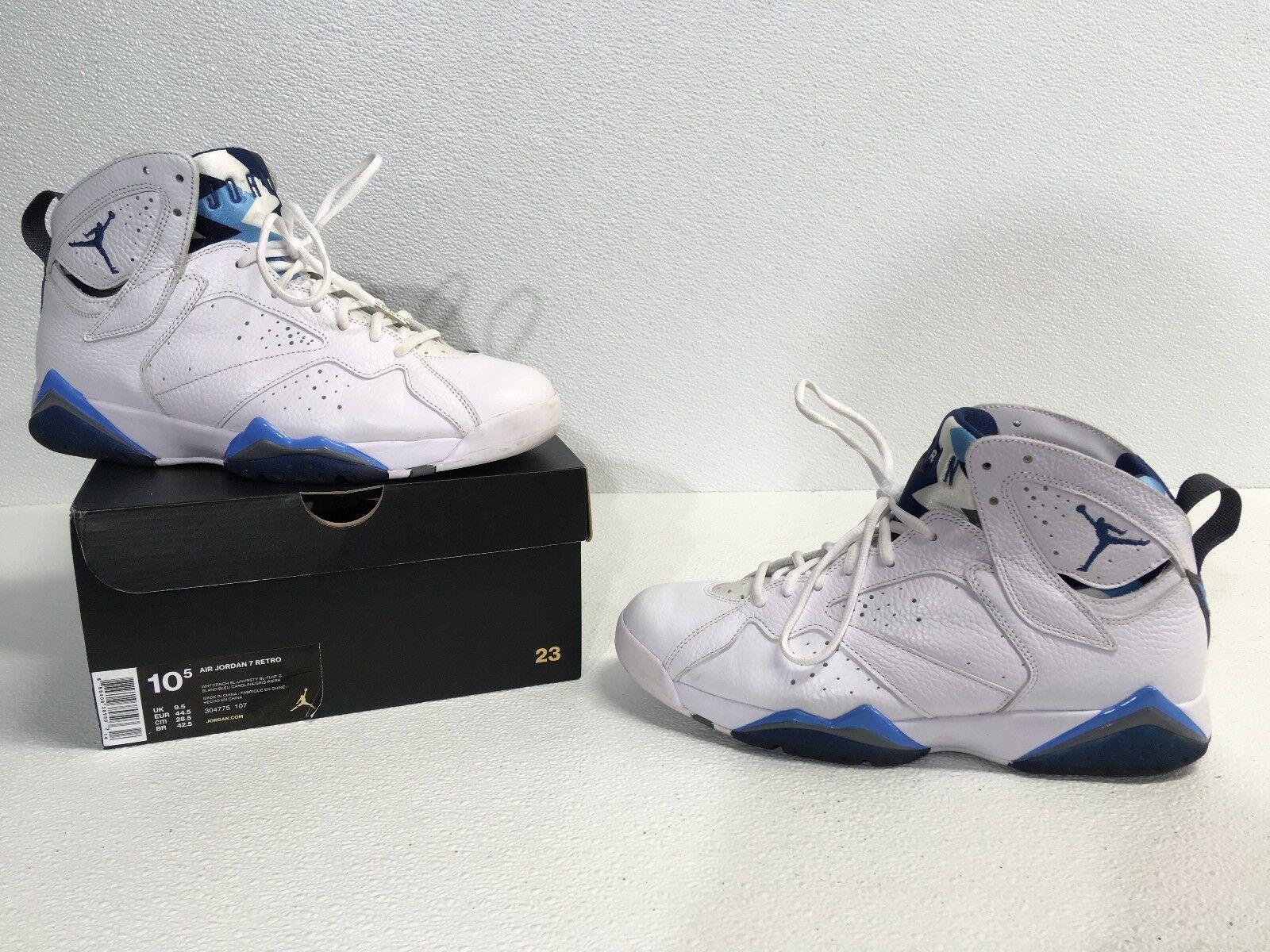 Jordan VII French Blue size 10.5 Cheap women's shoes women's shoes