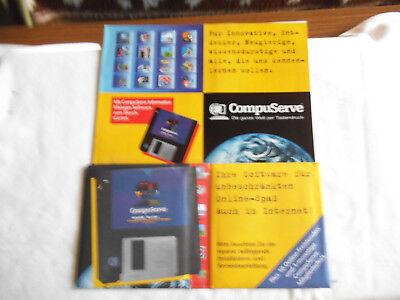 2 Disketten: Compuserve. Ihre Software Für Unbeschränkten Online-spaß Auch Im In GroßEs Sortiment