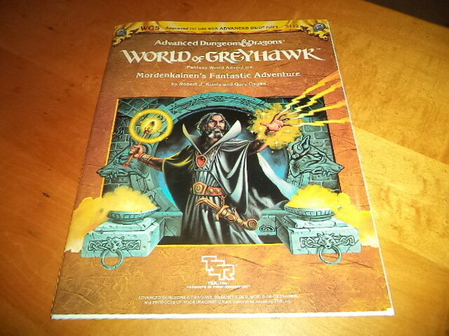 Mordenkainen's Fantastic Adventure 9112 Dungeons and Dragons TSR D & D Module