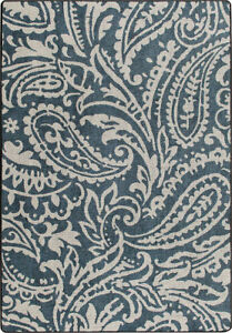4x6-Milliken-Cashmira-Blue-Casual-Floral-Paisley-Area-Rug-Approx-3-039-10-034-x5-039-4-034