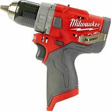New Milwaukee 2504 20 12v M12 Fuel Brushless 12 Hammer Drill Tool Only
