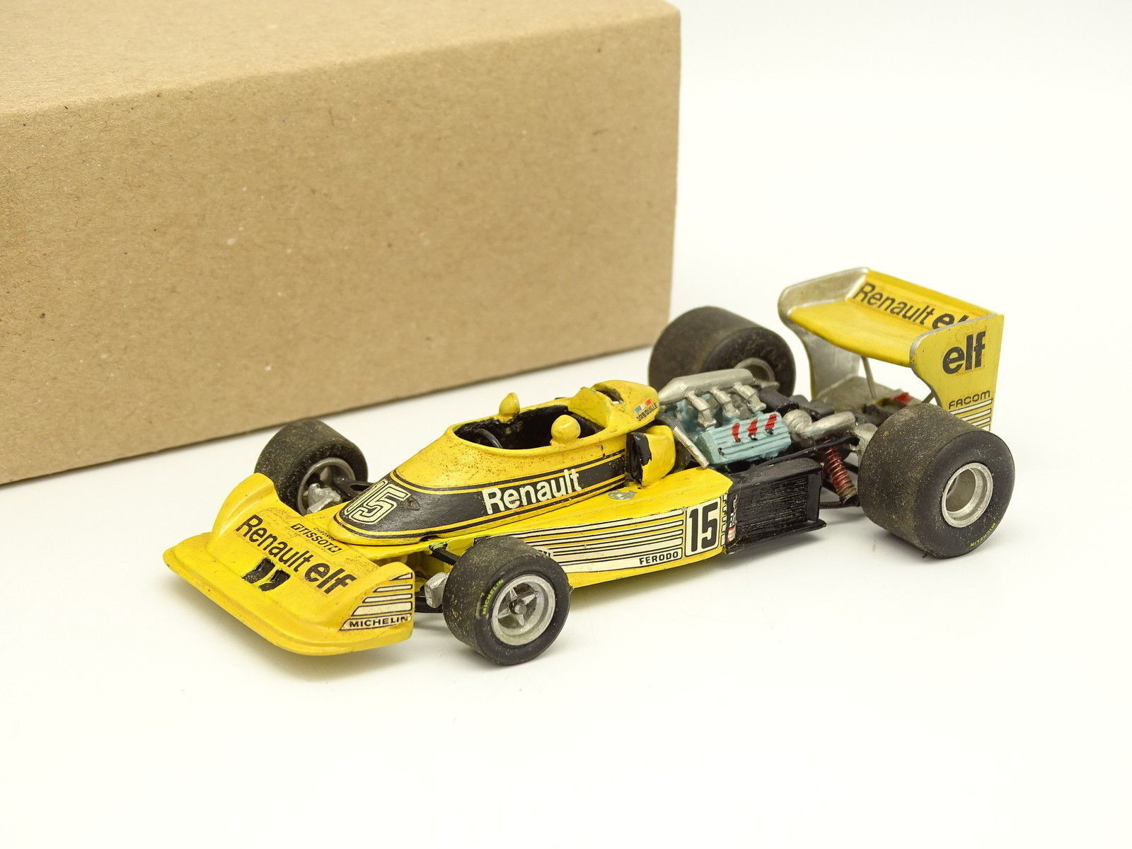 Tenariv Kit Metal Montado 1 43 - F1 Renault RS01 1 Dutch GP 1977 Jabouille