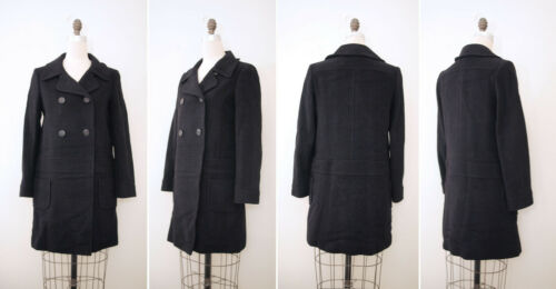A.P.C. Double Breasted Wool Coat Womens Sz Eur 38 (US 6)