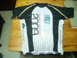 Cycling-Jersey-100-polyester-3-4-zipper-XL-US-size