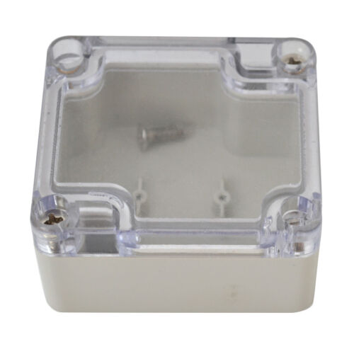 IP67 Plastic Waterproof Electronic Junction Box Electrical Enclosure Case 8Sizes