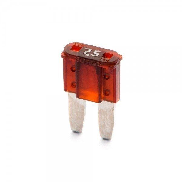 5 Flosser 502875 7 5 Amp Micro 2 Style Fuses Atr Mic2 Type