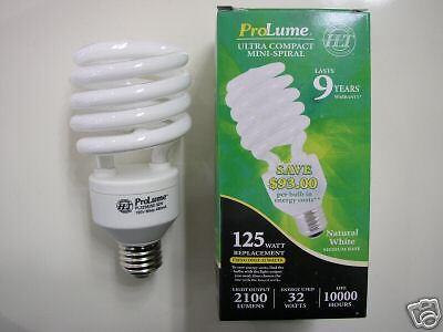 50-Halco ProLume FULL SPECTRUM 32W Long Life 5000K Compact Fluorescent Bulbs