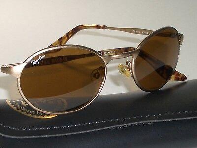 Kleidung & Accessoires B&l Ray-ban W2981 Matt Gold/tort Kombination B15 Sidestreet Oval Zebrastreifen