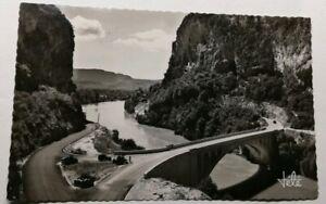 570-Antica-Cartolina-Pont-da-la-Balme-Pres-Tunnel-da-la-Dente-Del-Gatto