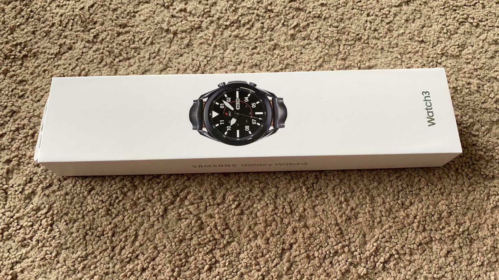 New !!! Samsung Galaxy Watch3 Smartwatch 45mm Stainless BT - Mystic Black 45mm black Featured galaxy mystic new samsung smartwatch stainless watch3