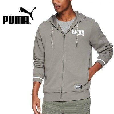 Puma Herren Style Athletics Full Zip Hoodie Track Top Jacke