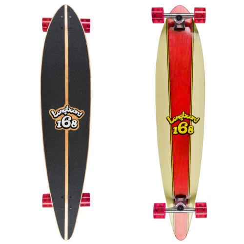 Rekon 46 x 9.75 x10.5mm Longboard Skateboard Complete Red