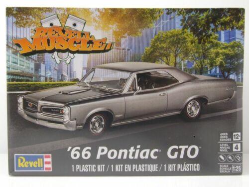 Pontiac GTO 1966 Kunststoffbausatz Modellauto 1:25 Revell