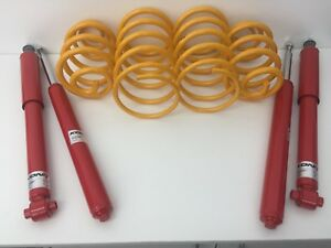HOLDEN COMMODORE VR IRS V8 F/&R SUPER LOW COIL SPRINGS