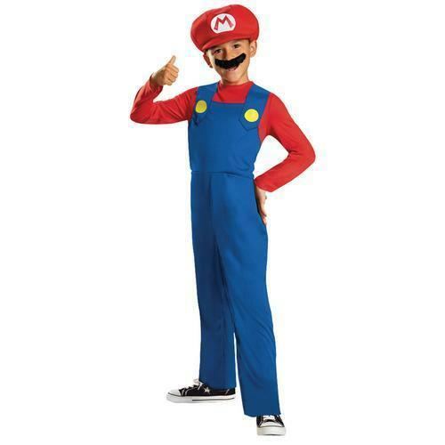 LICENSED DELUXE MARIO CHILD BOYS FANCY DRESS BOOK WEEK COSTUME