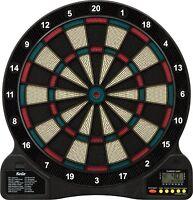 Electronic Dartboard 6 Soft Tip Darts 18 Games 96 Options Digital Display