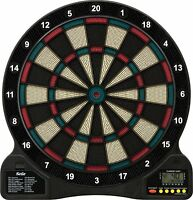 Electronic Dartboard 6 Soft Tip Darts 18 Games 96 Options Digital Display
