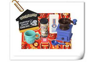 Megahouse RARE Miniature Captain Dog Cafe Coffee Dessert Shop Re-ment No.7