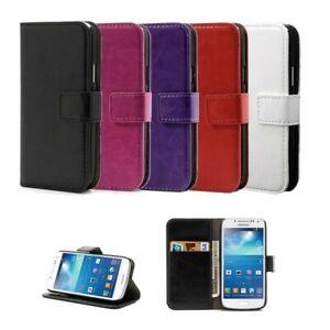 Flip-Case-Handy-Hulle-zu-Samsung-Galaxy-S4-mini-GT-I9195-Tasche-Schutz-Cover-BE