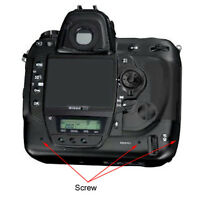 Nikon D4, F90x, F90, F-801s, F-801, F-501, F-301, F-c Mount Adaptor Body Screws