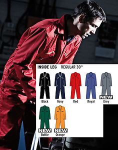 MENS-DICKIES-REDHAWK-ZIPPED-COVERALL-OVERALLS-BOILERSUIT-WD001-7-COLOURS