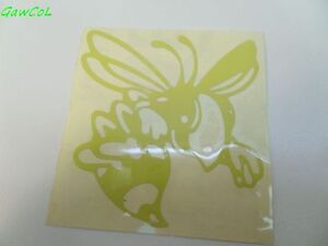 vespa sticker decal wasp wesp reflecting yellow