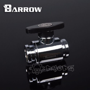 "Barrow Silver Ball Valve G1//4/"" Barrow water cooling"