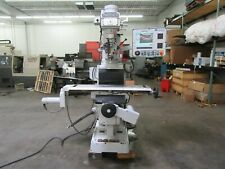 Milltronics Partner Vkm3 Cnc 3 Axis Vertical Knee Mill Variable Speed Spindle