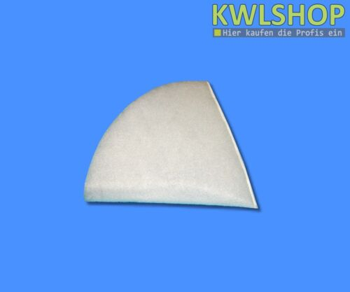 10 Kegelfilter G4 DN 125,180mm lang für Standart Abluftfilter,Tellerventilfilter