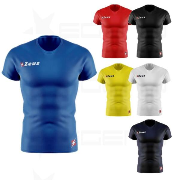 2019 Moda Maglia Maglietta Tecnica Manica Corta Zeus Fisiko Running Fitness Palestra Smoothing Circulation And Stopping Pains
