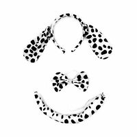 Kinzd Kids Mouse Dalmatian Antlers Wolf Tiger Party Halloween C... Free Shipping
