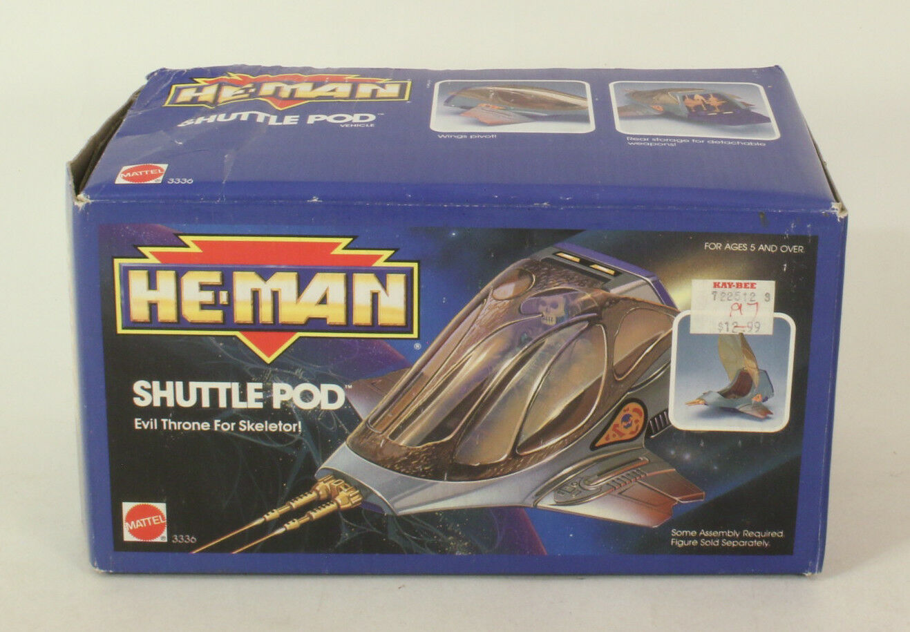 Vintage Mattel Masters of The Universe  MOTHU He-Man Shuttle Pod sealed