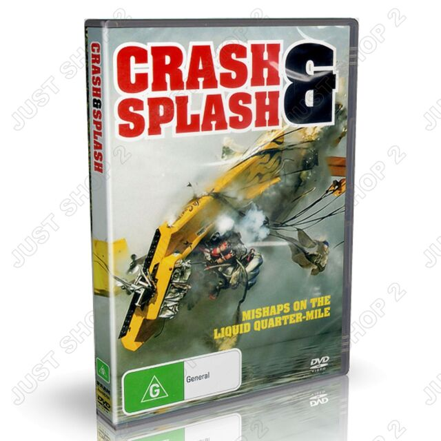 Crash & Splash, Hydro Drag Speed Boat Racing : New DVD