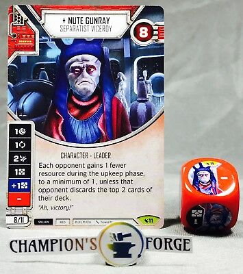 Star Wars Destiny Legacies Nute Gunray #11