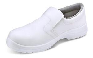 Cliquez Sur Micro Fibre Slip On Chaussure De Sécurité. Blanc. S2-cf832-afficher Le Titre D'origine