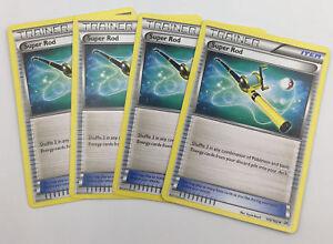 4x-Super-Varilla-149-162-Pokemon-TCG-XY-innovador-entrenador-Conjunto-de-Juego-de-4