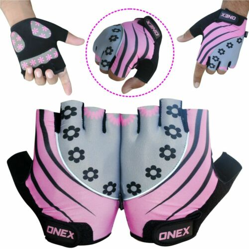 Weight Lifting Gym Fitness Gloves Men Women Ladies Bodybuilding Training Workout