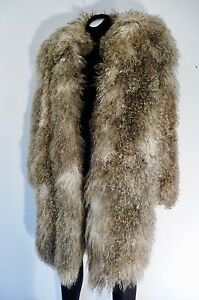 6e852e28127fc Image is loading PATRICK-KELLY-PARIS-VINTAGE-MONGOLIAN-LAMB-FUR-COAT